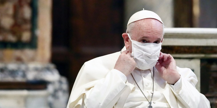 Pope Francis Participates In Inter-religion Prayer Meeting