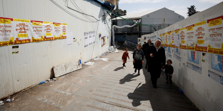 Image: Israel observes a day of mourning after dozens were crushed to death at a religious festival