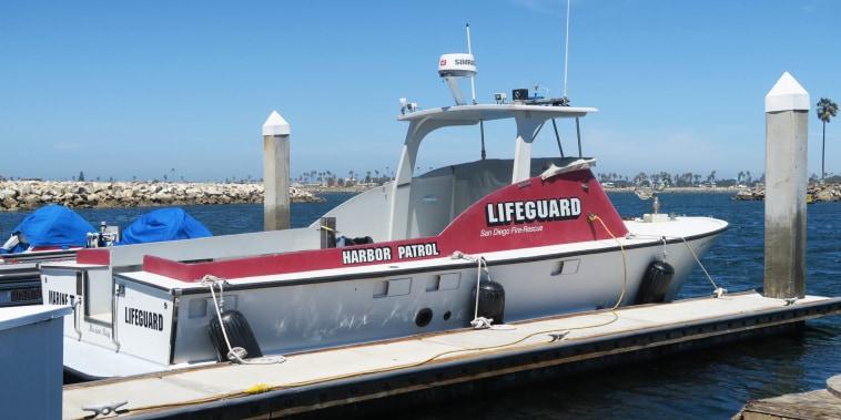 A San Diego Fire Rescue vessel.