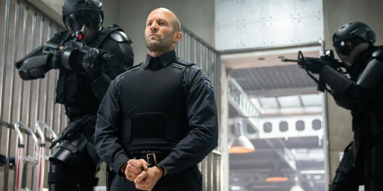 Image: Jason Statham appears in Wrath of Man
