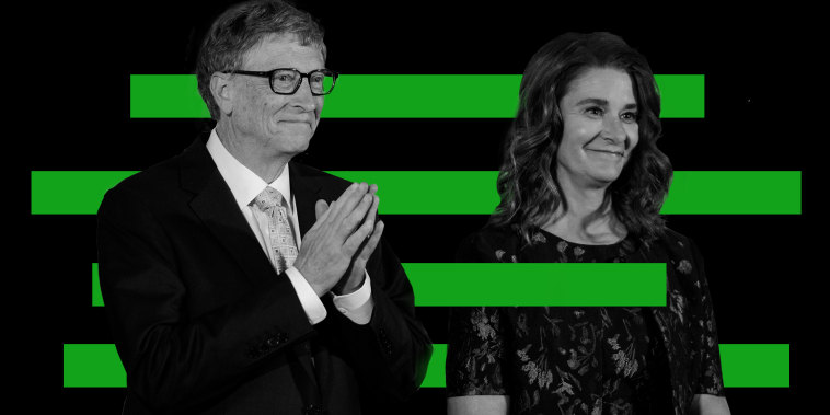 Photo illustration: Bill and Melinda Gates