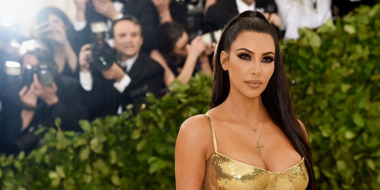 Kim Kardashian attends The Metropolitan Museum of Art Gala on May 7, 2018 in New York.