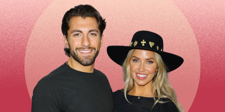 Jason Tartick and Kaitlyn Bristowe attend iHeartRadio ALTer EGO presented by Capital One at The Forum on January 18, 2020 in Inglewood, Calif.