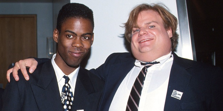 Chris Rock, and Chris Farley