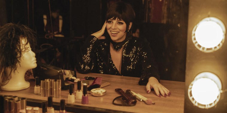 Krysta Rodriquez as Liza Minnelli in episode 102 of Halston.