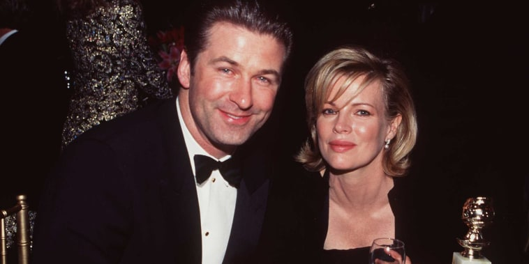 Baldwin And Basinger At Golden Globes