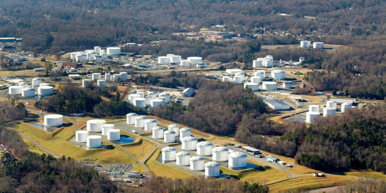 Image: Colonial Pipeline's Charlotte Tank Farm in Charlotte, N.C.