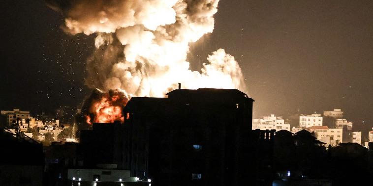 Image: Gaza Strip explosion
