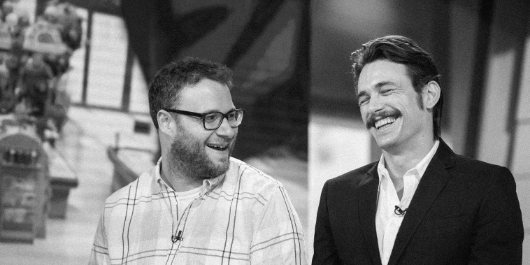 "IMage: Seth Rogen and James Franco appear on NBC's ""TODAY\"" show on Aug. 5, 2016."