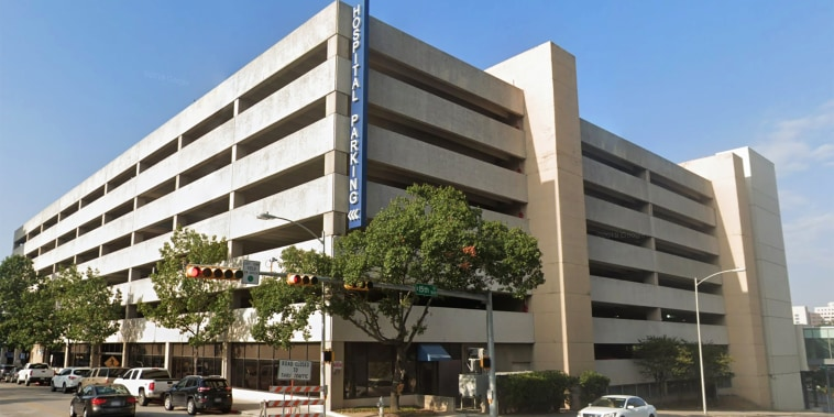 Image: Hospital parking garage for Dell Seton Medical Center in Austin, Texas.