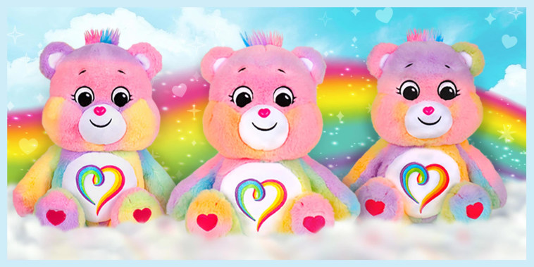 Care Bear releases rainbow Togetherness Bear ahead of Pride Month?