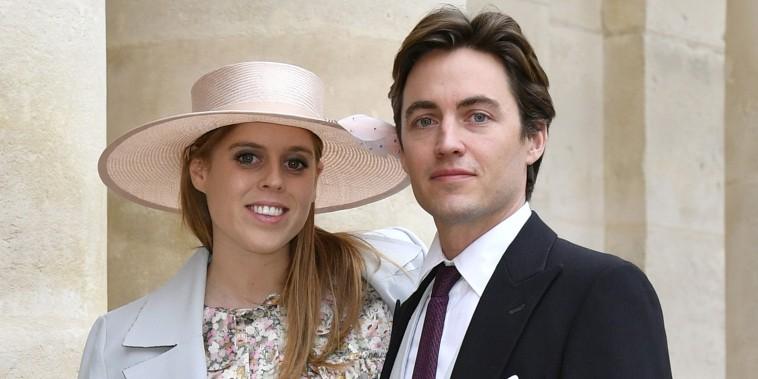 Princess Beatrice, Edoardo Mapelli Mozzi