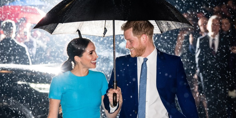 Image: The Duke And Duchess Of Sussex Attend The Endeavour Fund Awards