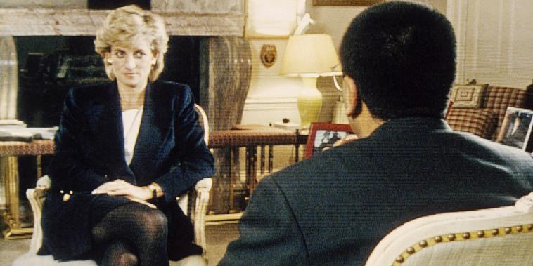 Princess Diana Being Interviewed
