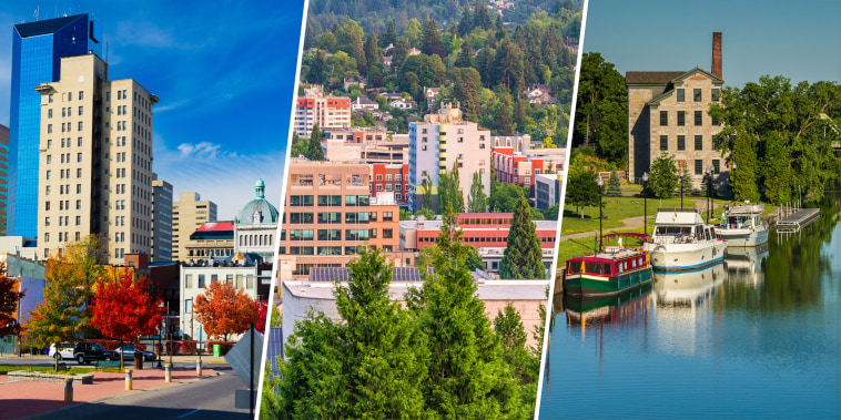 Lexington, Kentucky; Eugene, Oregon; and Finger Lakes, New York.