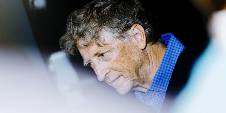 Image: Bill Gates during an event on the sidelines of the Berkshire Hathaway Inc. annual shareholders meeting in Omaha