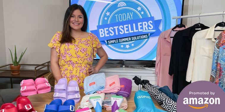 Adrianna Brach shares her Amazon finds on broadcast