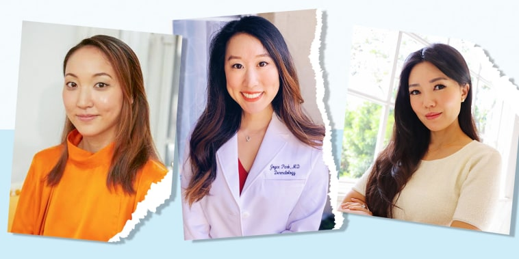 Image of Dr. Joyce Park and influencers Ava Lee and Amy Chang