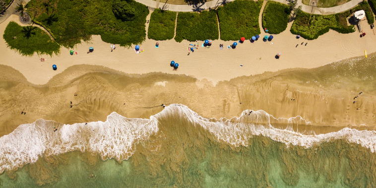 Beaching It From Above