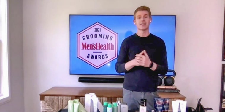 Mens Health shares their grooming awards on broadcast