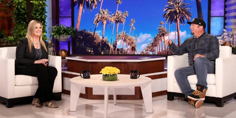 Garth Brooks and Trisha Yearwood on Ellen