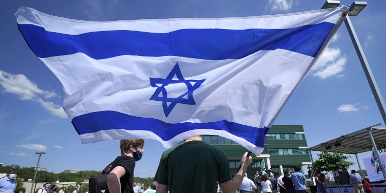 Image: Israel flag, Pittsburgh