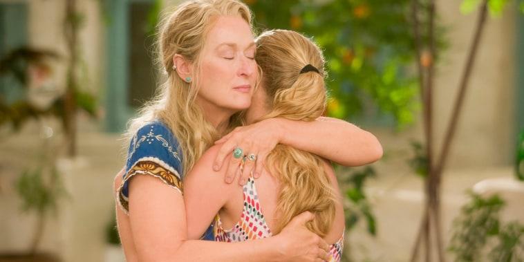 Mamma Mia! Meryl Streep, Amanda Seyfried (C) 2008 Universal Pictures