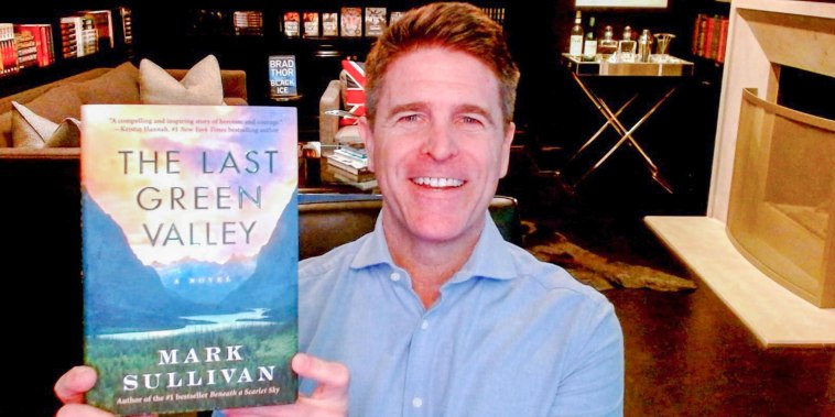 Brad Thor shares a book he likes to read on broadcast
