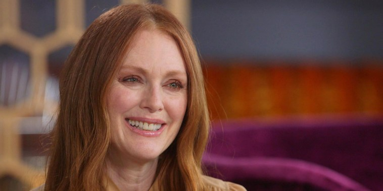 Julianne Moore sits down with Willie Geist on Sunday TODAY.
