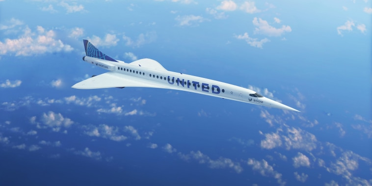 Image: United Airlines announced a commercial agreement with aerospace company Boom Supersonic to add aircraft to its global fleet.
