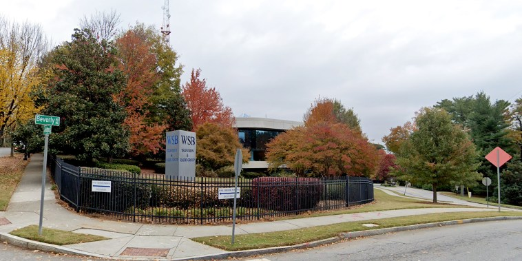 WSB-TV television station in Atlanta, the flagship television property of locally based Cox Media Group.