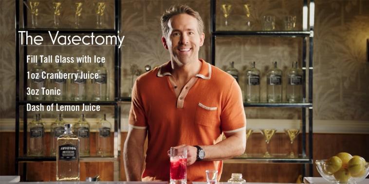 Ryan Reynolds' Vasectomy