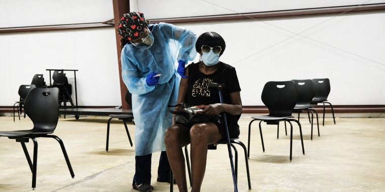 Image: Mississippi Delta Region Struggles To Vaccinate Residents
