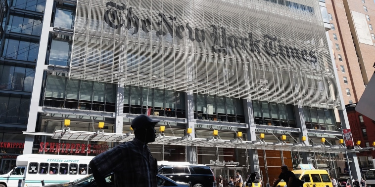 Image: The New York Times building