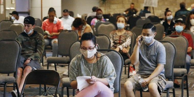 Image: Unemployment benefits