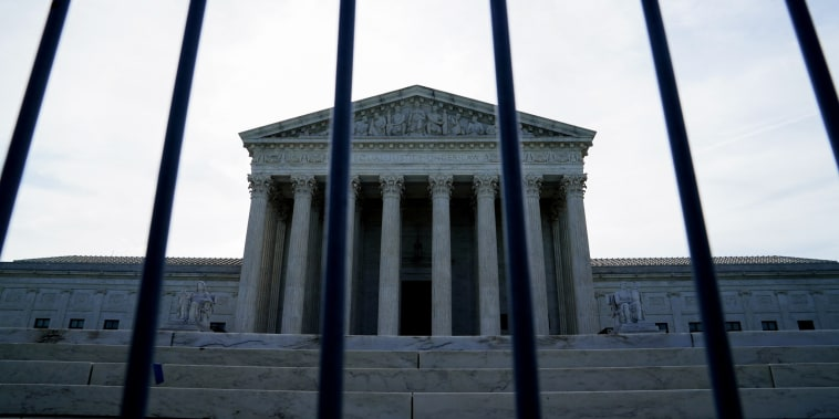 The Supreme Court in Washington on June 1, 2021.