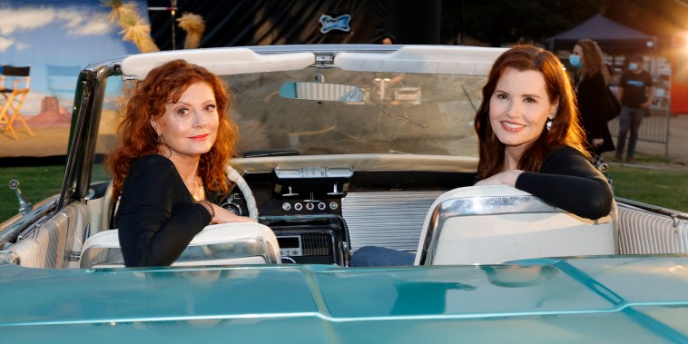 """MGM And Cinespia Host """"Thelma And Louise"""" 30th Anniversary Drive-In Charity Screening Experience"""