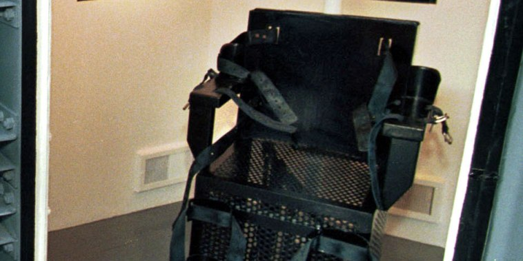 Image: The gas chamber at the Florence Prison Complex in Florence, Ariz., on Feb. 11, 1999.