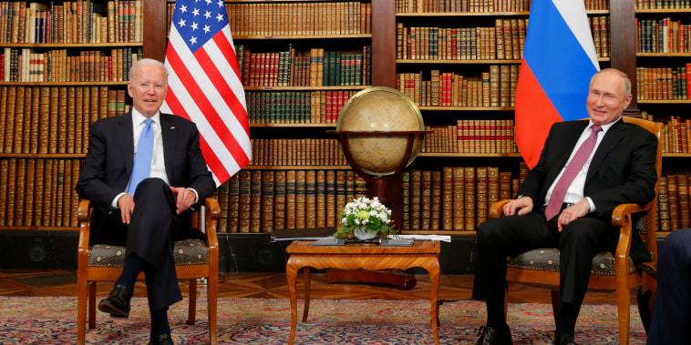 Image: U.S.-Russia summit in Geneva