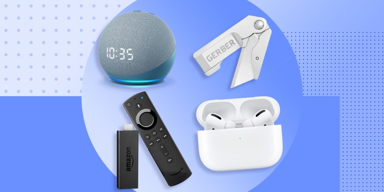Illustration of different products on sale for Amazon Prime Day