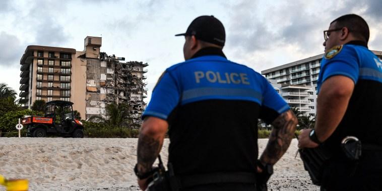 Image: Miami building partial collapse