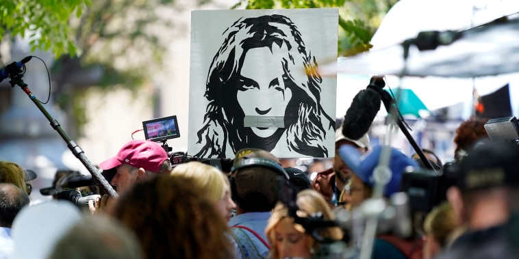Image: Britney Spears supporters