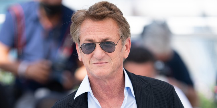 """Sean Penn attends the """"Flag Day"""" photocall during the 74th annual Cannes Film Festival on July 11, 2021."""