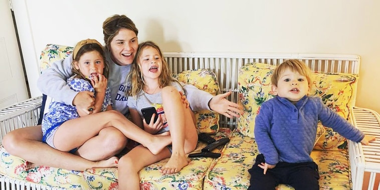 Jenna Bush Hager with her 3 kids