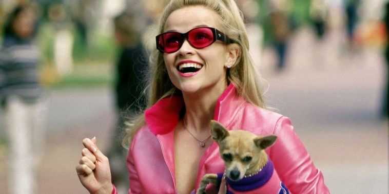 REESE WITHERSPOON, LEGALLY BLONDE, 2001