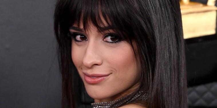 Camila Cabello at the Grammy Awards on Jan. 26, 2020.