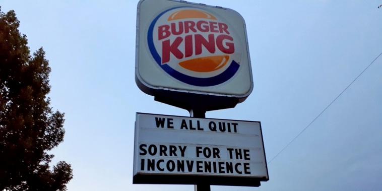 Image: Burger King sign  Lincoln, Nebraska