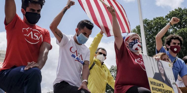 U.S. Supreme Court Stops Trump Bid To Scrap Obama's DACA