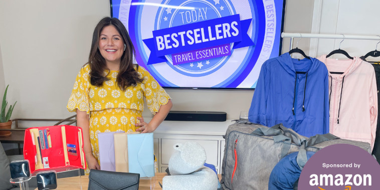 Adrianna Brach shares Travel Essentials to buy from Amazon on Broadcast