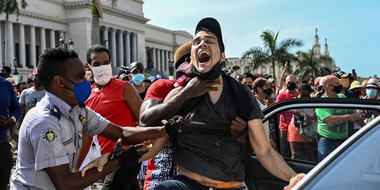 Image: Protests in Cuba